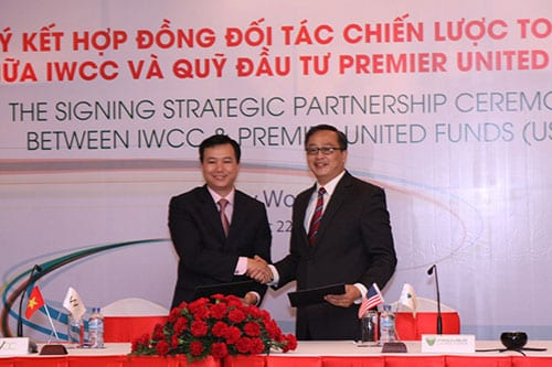 THE SIGNING STRATEGIC PARTNERSHIP CEREMONY BETWEEN IWCC & PUF