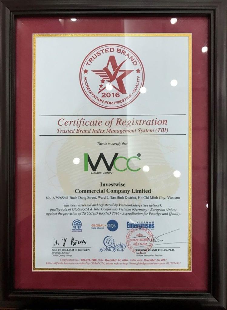IWCC - TBI Certificate